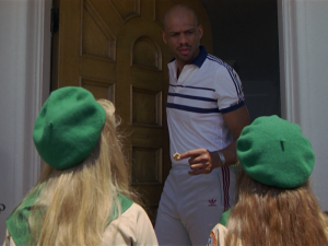 """""""You're Kareem Abdul-Jabbar!  I think you're the greatest, but my Dad says you don't work hard enough on defense."""""""