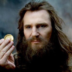 """I will give you this gold doubloon if you stop telling people I was in this movie."""